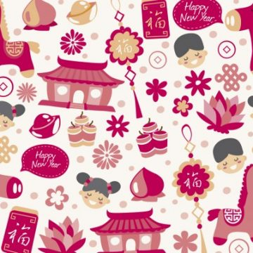 Free vector Happy chinese new year background #34078