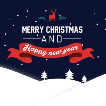Free vector Happy New Year lettering Greeting Card, vector illustration #29448