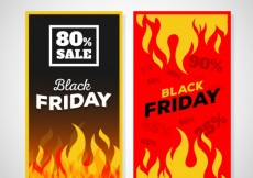 Free vector Hot deals for black friday #33286