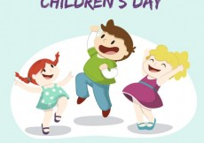 Free vector Illustration of children's day  #32378
