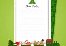 Free vector Letter to Santa #29586