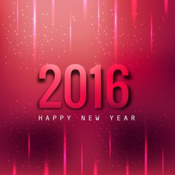 Free vector Magenta background of 2016 new years #29037