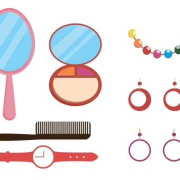 Free vector Makeup and Accessories Vector Pack #34164