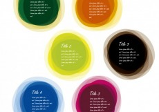 Free vector Multi colored balls collection #32042