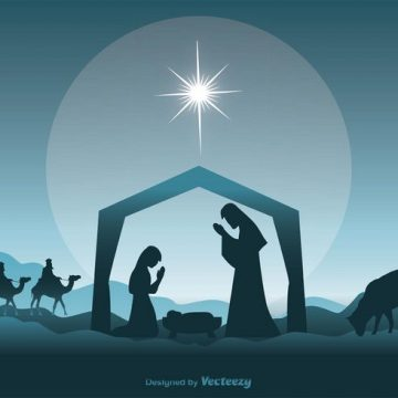Free vector Nativity Scene Illustration #32301