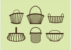 Free vector Old Basket Vectors #33067