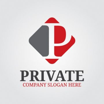 Free vector Professional Letter P Logo #30823