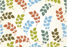 Free vector Seamless Leaf Background Vector #29919