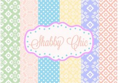 Free vector Shabby Chic Patterns #33281