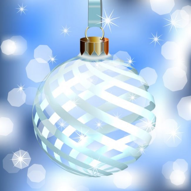 Free vector Shiny Christmas ball #28310
