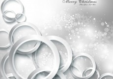 Free vector Silver Merry Christmas background #32832