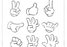 Free vector Sketchy hands pack #28983