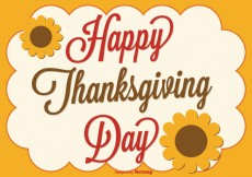 Free vector Thanksgiving Background Illustration #31502