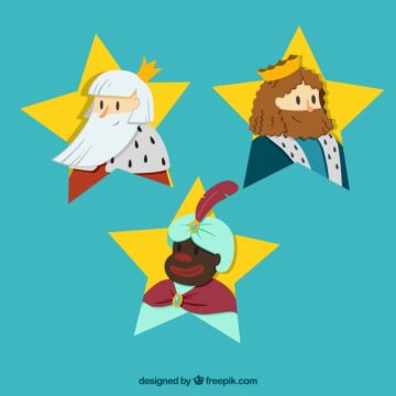 Free vector The three kings of Orient #33364