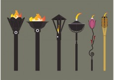 Free vector Tiki Torch Vectors #28287