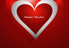 Free vector Valentines day card #32846