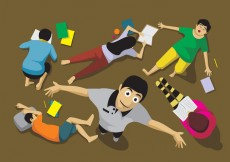 Free vector Activities of People from Above #30568