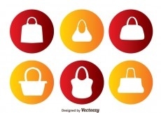 Free vector Vector Bag Silhouettes #29400