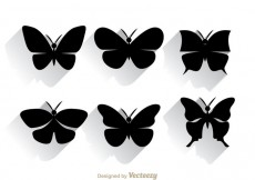 Free vector Butterfly Silhouette #31111