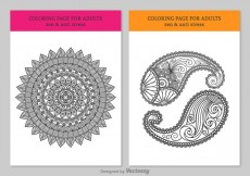 Free vector Free Coloring Pages For Adults #29152