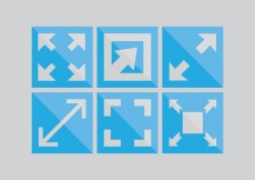 Free vector Full Screen Icon Pack #28472