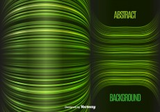 Free vector Green lines background #28720