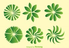 Free vector Green Trees Top View #30904