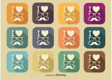 Free vector Hipster Style Icons #34420