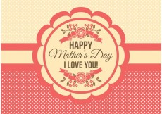 Free vector Mother's Day Card #34458
