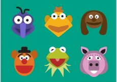 Free vector Vector Muppet Characters #28321