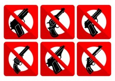 Free vector No Weapons Signs #32625
