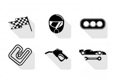 Free vector Vector Pit Stop Icon #29378
