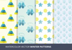 Free vector Vector Seamless Patterns #29510