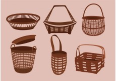 Free vector Simple Old Basket Designs #30163