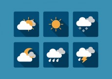Free vector Vector Weather Icon Set #29468