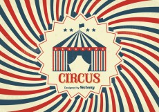 Free vector Vintage Circus Poster #29140