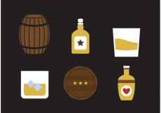 Free vector Whiskey Vector Icons #33055
