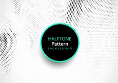 Free vector Abstract elegant halftone pattern background #1476