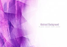 Free vector Abstract watercolor background with polygons #1442