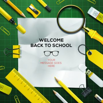 Free vector Back to school background graphics vector 02 #3370