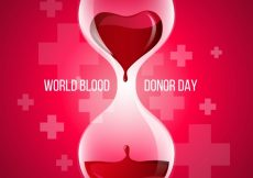 Free vector Blood donor day background #2957