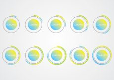 Free vector Buffer Icons #3489