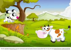 Free vector Cartoon Farm Animals #3600