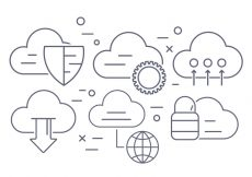 Free vector Cloud Computing Vector Icons #1966