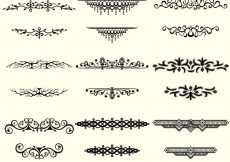 Free vector Collection of vintage borders #3527