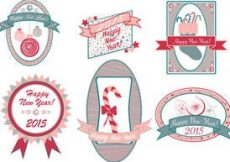 Free vector Free Christmas Vector Pack #49
