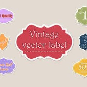 Free vector Free Different Vector Labels #31