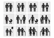 Free vector Free Family Icons Vector #821