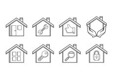 Free vector Free Housing Icon Vector #859