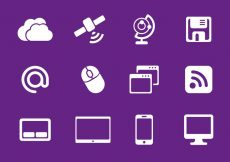 Free vector Free Internet Icons Vector #1920